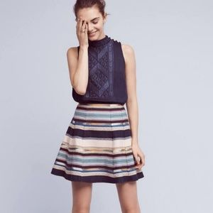 Anthropologie Chloe Oliver Hayley Skater Skirt